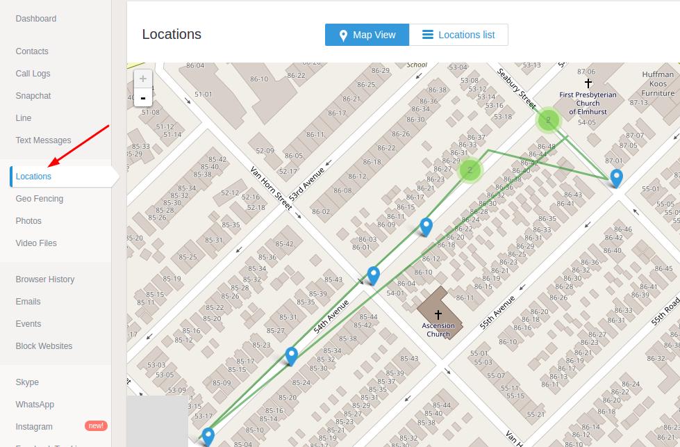 mSpy ücretsiz deneme konum harita